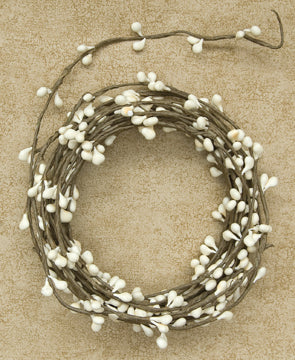 Ivory Pip String Garland 18 ft.