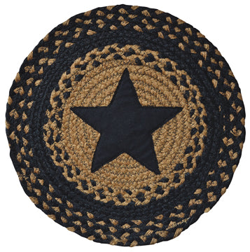 Star Braided Mat Black