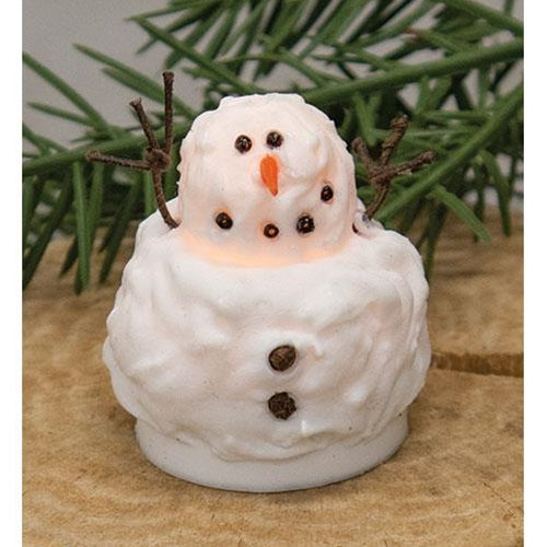 Baby Snowman Silicone Tealight Cover