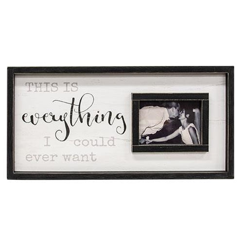 "This is Everything Photo Frame 12""x24"""
