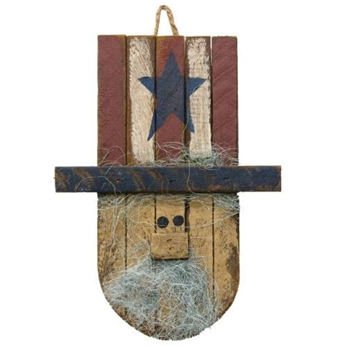 Hanging Lath Uncle Sam Head 16""