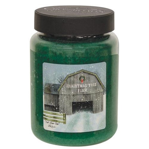 """Cut Your Own"" 26 oz Jar Candle"