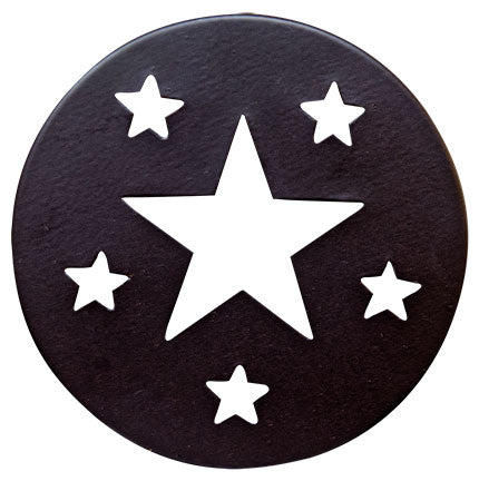 Star Candle Jar Lid