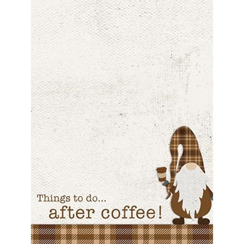 Things To Do...After Coffee! Mini Notepad