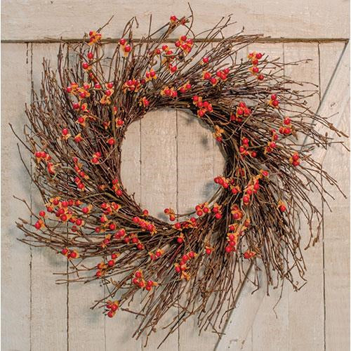 Country Bittersweet Wreath 22""