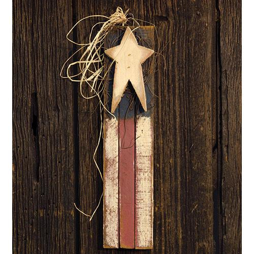 Skinny Vertical Lath Flag 18""