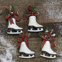Ice Skate Ornament 5""