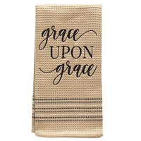 Grace Upon Grace Dish Towel 20x28