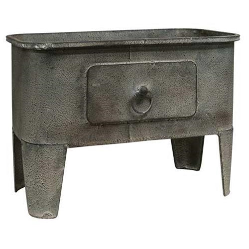 Gray Metal Basin