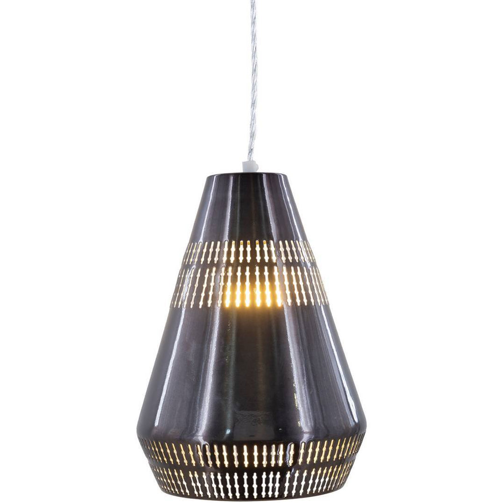 cone cage pendant light modern black nordic