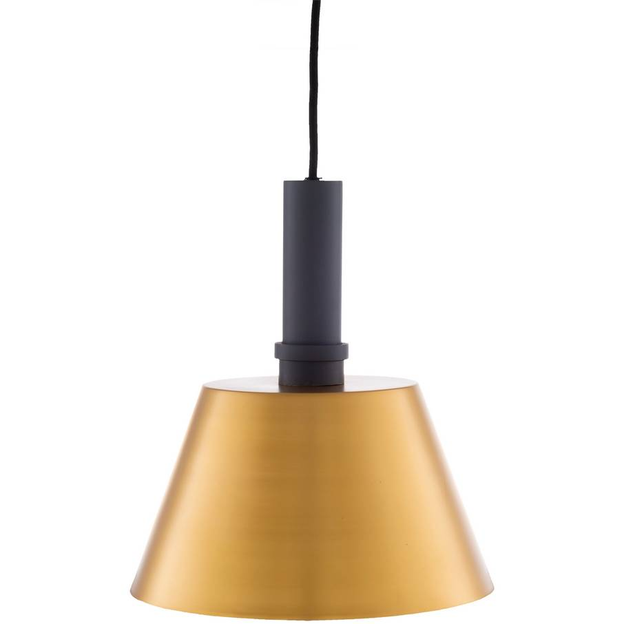 modern nordic brass cone pendant light