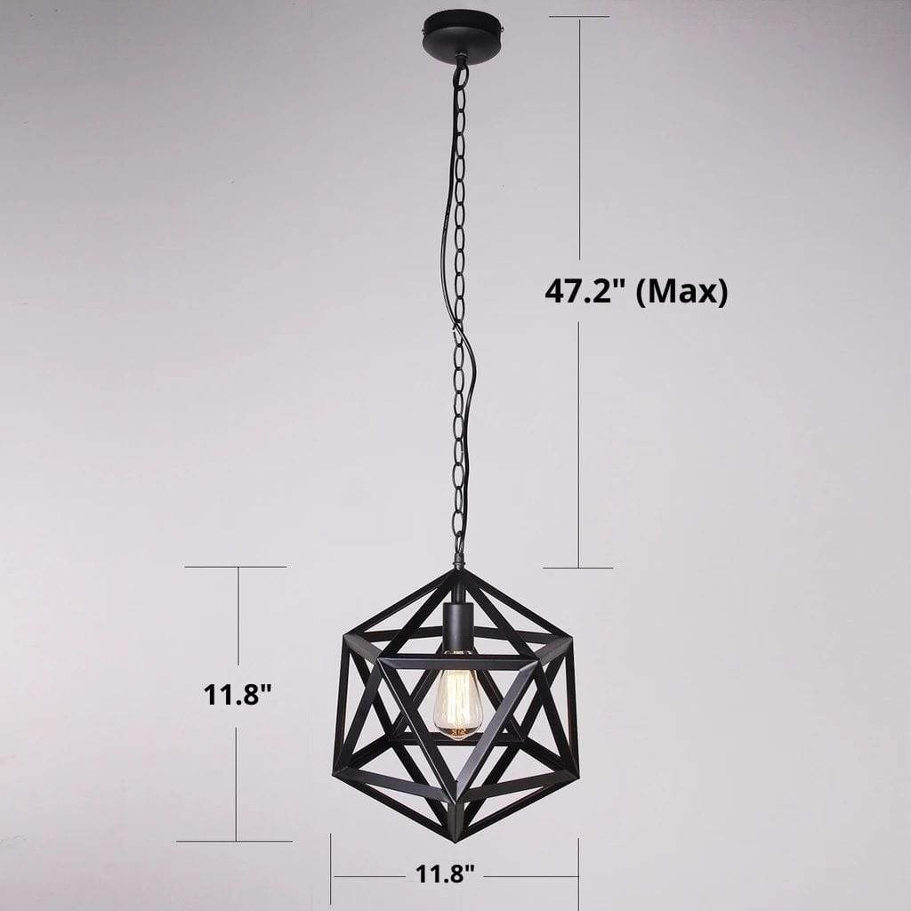 modern orb pendant light