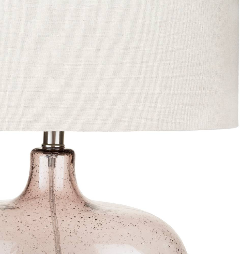 vintage glass body table lamp