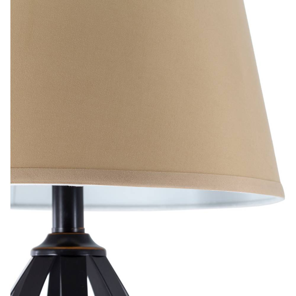 oil rubbed bronze table lamps beige shade