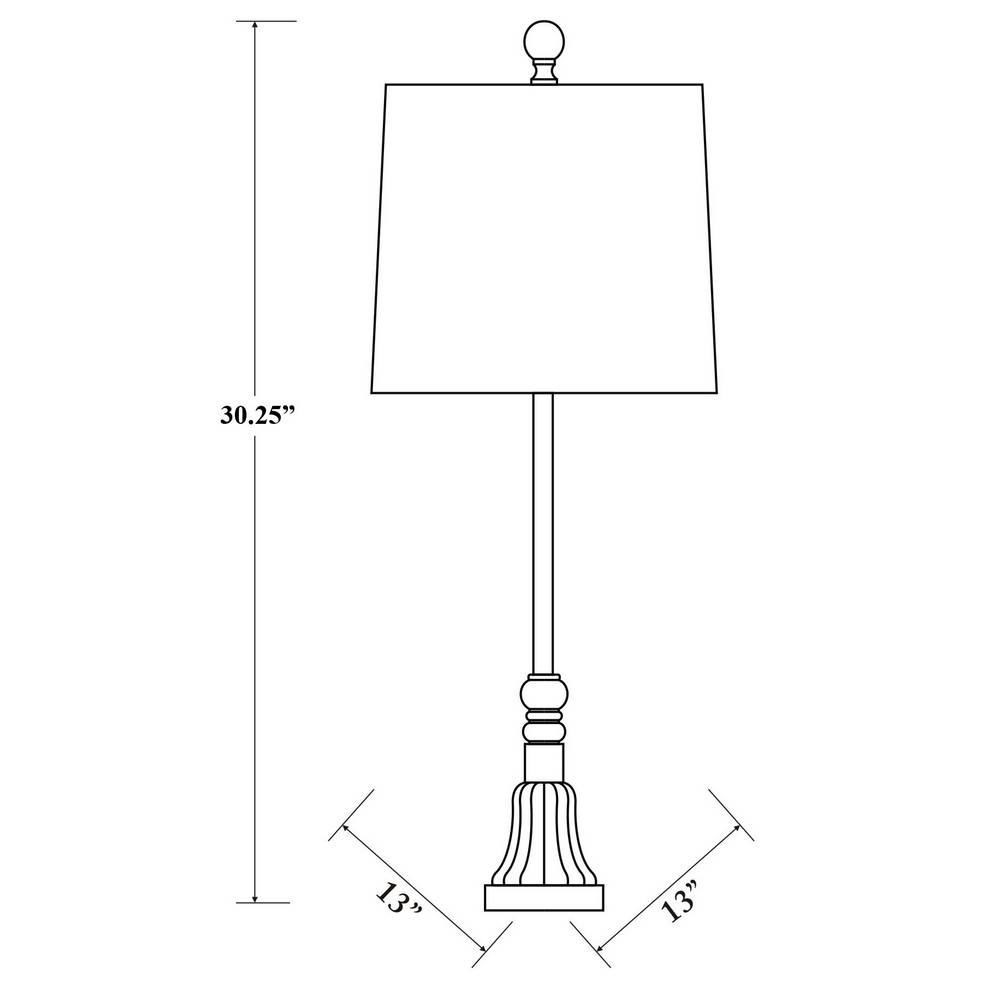 tall farmhouse table lamp