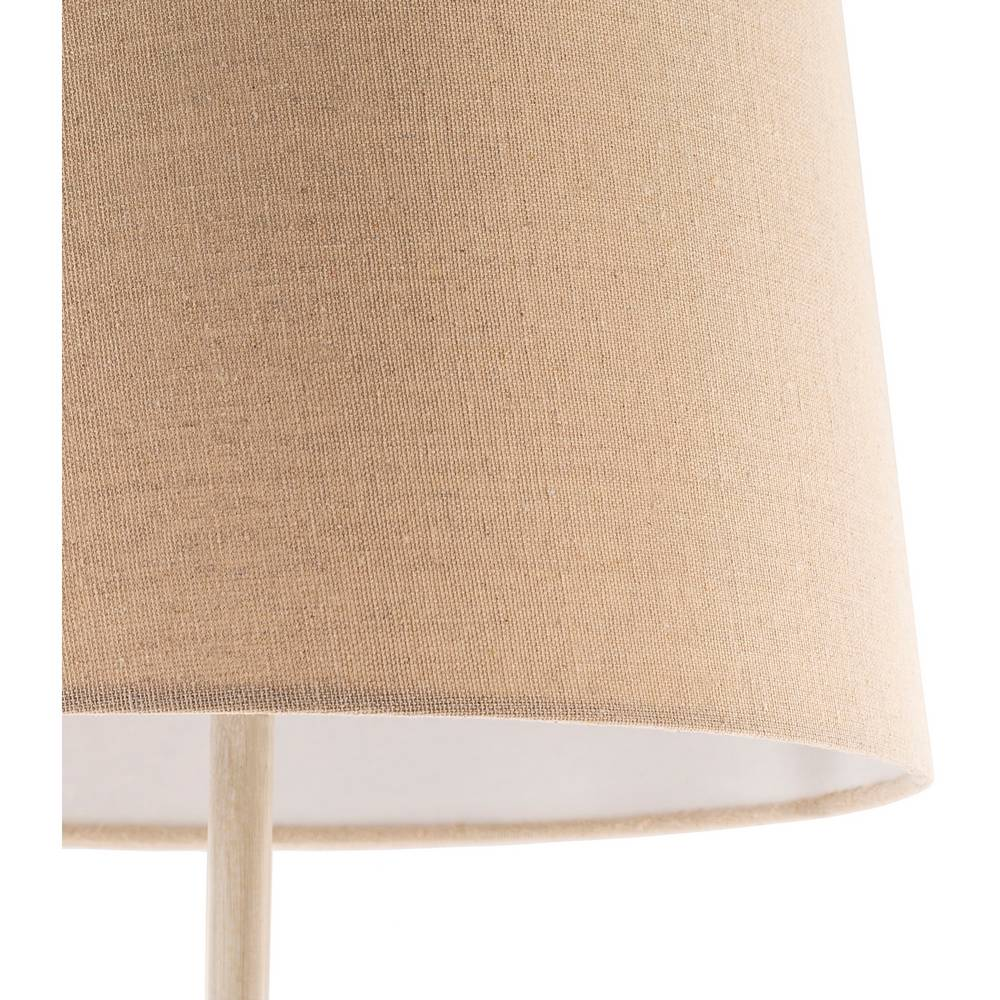 tall rustic farmhouse table lamp cream shade