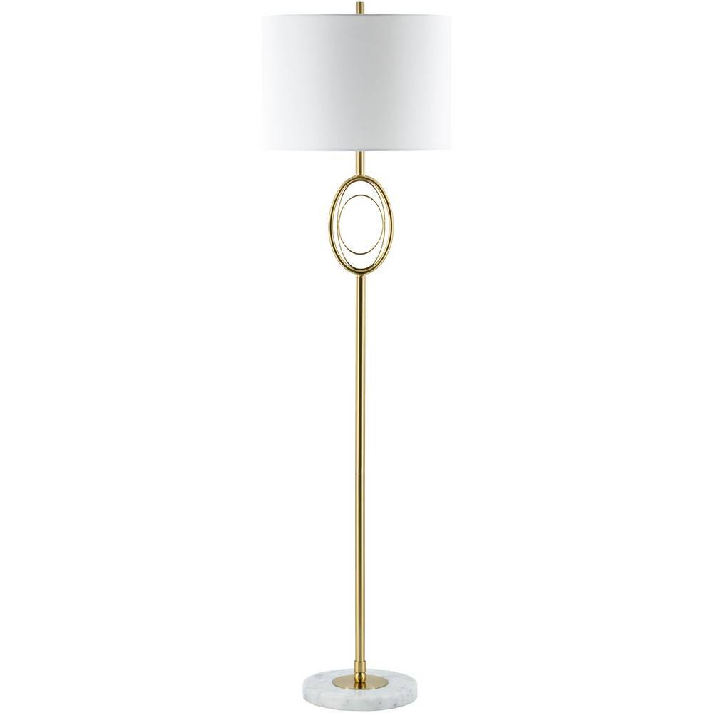 modern brass floor lamp
