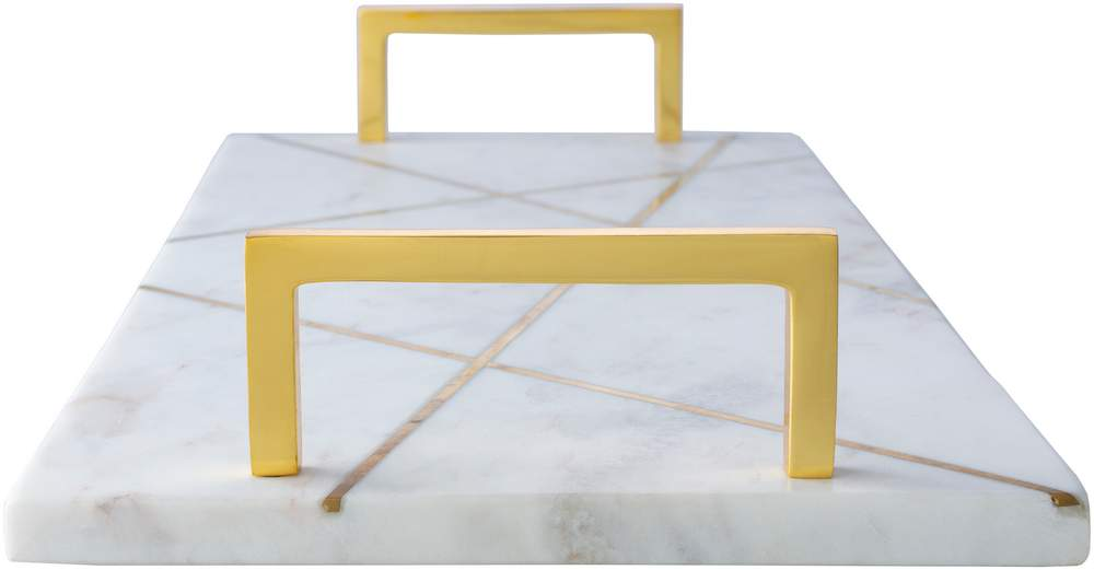 luxury decorative tray made from marble