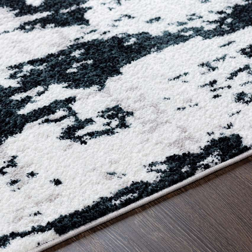 made in turkey navy blue and white area rug