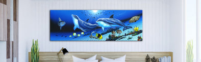 David Dunleavy Dolphin Art