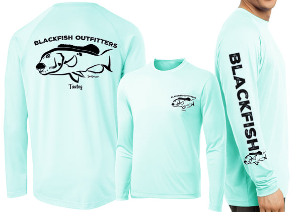 Men's Performance Blackfish Deco Long Sleeve - Dunleavyapparel