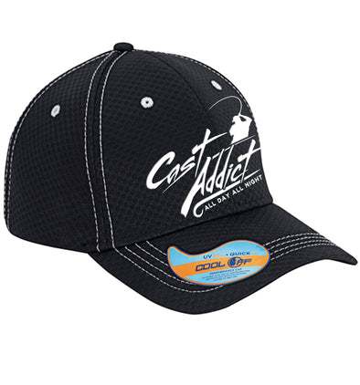 Cast Addict Performance Hat Black