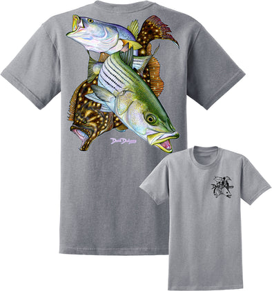 Men's Inshore Slam Short Sleeve Cotton T-Shirt - Dunleavyapparel