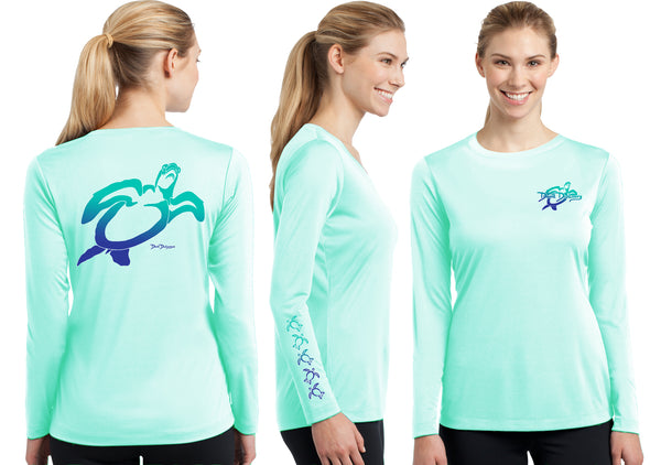 Women's Performance Turtle Deco Long Sleeve