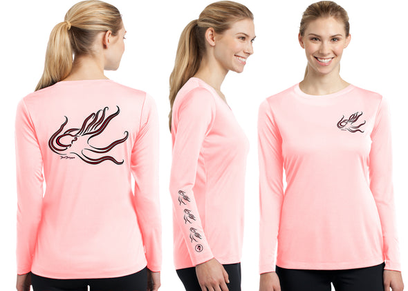 Women's Performance Octopus Deco Long Sleeve - Dunleavyapparel