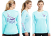 Women's Performance Mahi Mahi Deco Long Sleeve - Dunleavy Apparel