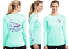 Women's Performance Mahi Mahi Deco Long Sleeve - Dunleavyapparel