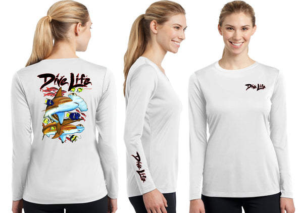 Women's Performance Dive Life Hammer Time Long Sleeve
