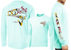 Men's Performance Rockfish Deco Long Sleeve - Dunleavyapparel