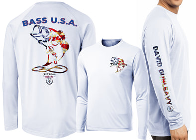 Men's Performance Bass USA Long Sleeve