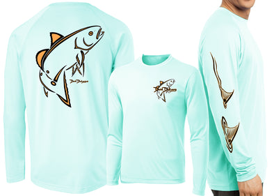 Men's Performance Classic Redfish Deco Long Sleeve