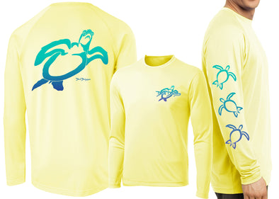 Men's Performance Turtle Deco Long Sleeve - Dunleavyapparel