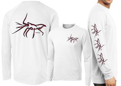 Men's Performance Lobster Deco Long Sleeve