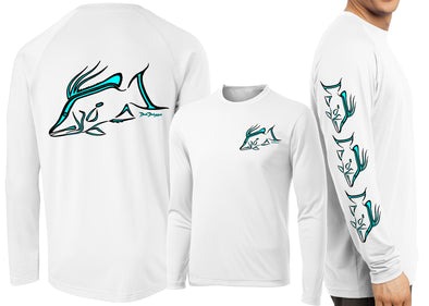 Men's Performance Hogfish Deco Long Sleeve