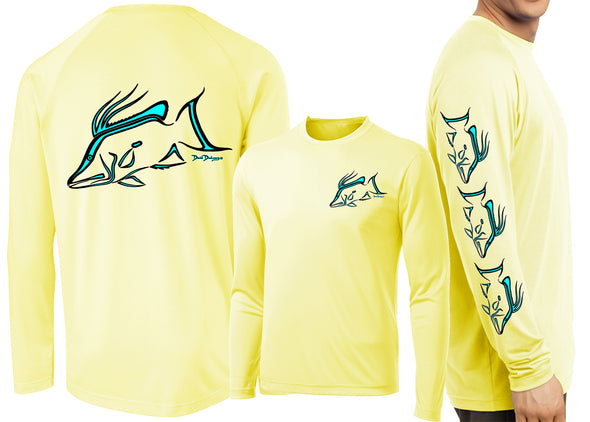 Men's Performance Hogfish Deco Long Sleeve - Dunleavyapparel