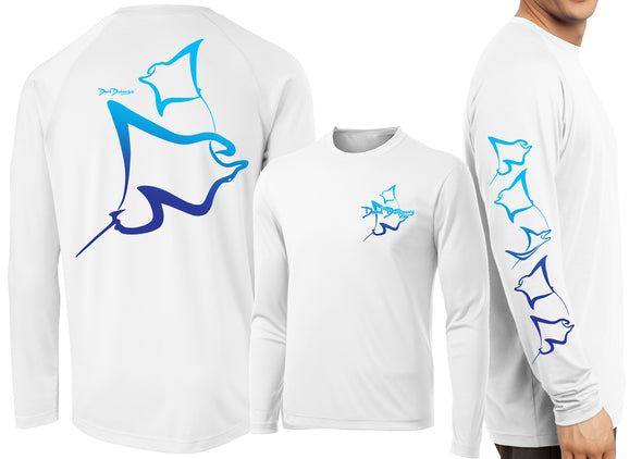 Men's Performance Manta Rays Deco Long Sleeve
