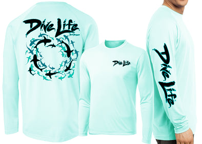 Men's Performance Dive Life Frenzy Long Sleeve