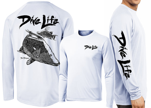 Men's Performance Dive Life Hogfish Long Sleeve