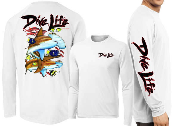 Men's Performance Dive Life Hammer Time Long Sleeve - Dunleavy Apparel