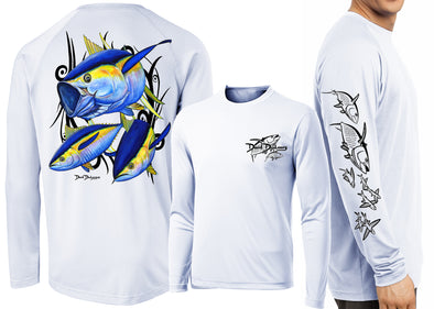 Men's Performance Yellowfin Tuna Long Sleeve