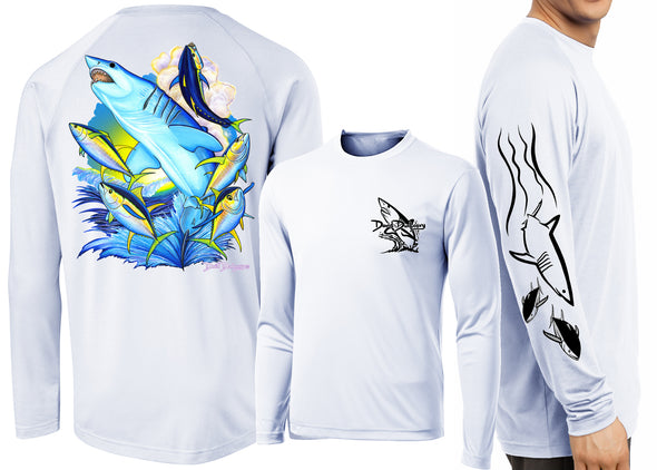 Men's Performance Mako Shark Long Sleeve