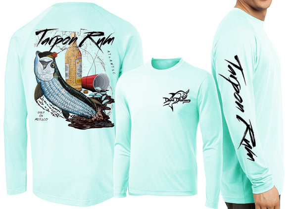 Men's Performance Tarpon Rum Florida Long Sleeve