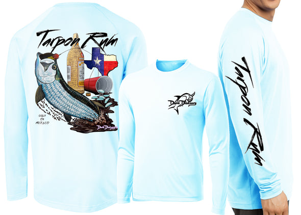Men's Performance Tarpon Rum Texas Long Sleeve
