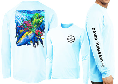 Men's Performance Mahi, Tuna, Lure Long Sleeve