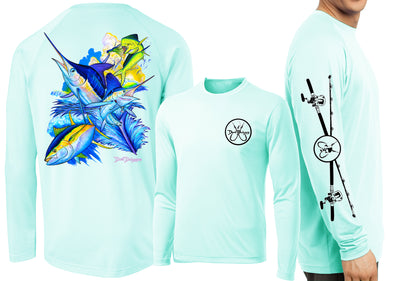 Men's Performance Offshore Slam Long Sleeve