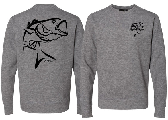 Men's Performance Bluefish Deco Sweatshirt